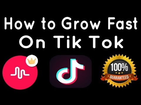 How to Get Famous on Tik Tok fast
