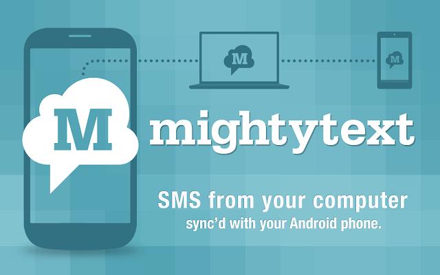 Mightytext - Best Airdroid alternatives