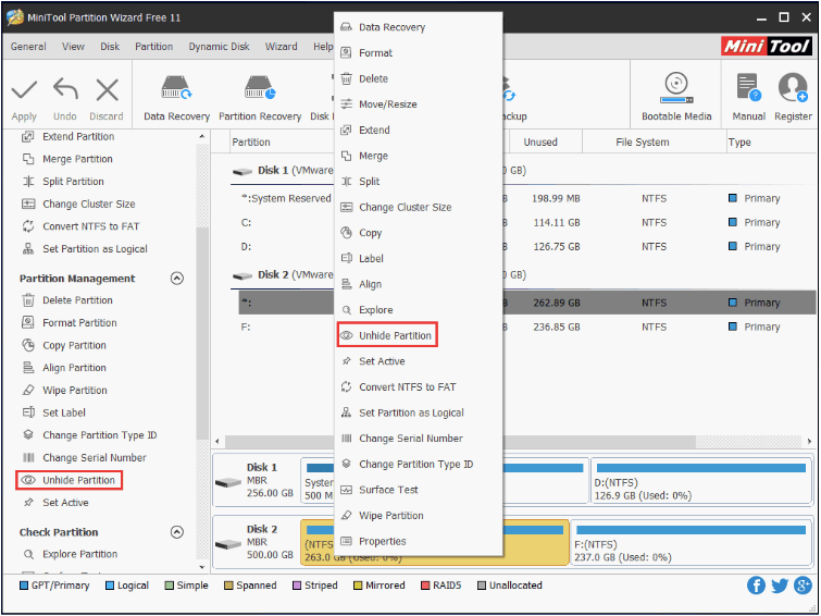 ssd not showing up windows 10