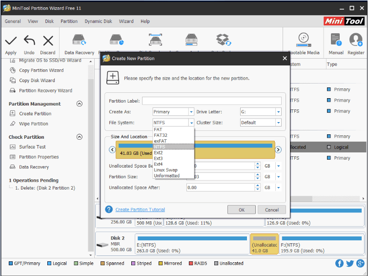 SSD not showing up in Disk Management