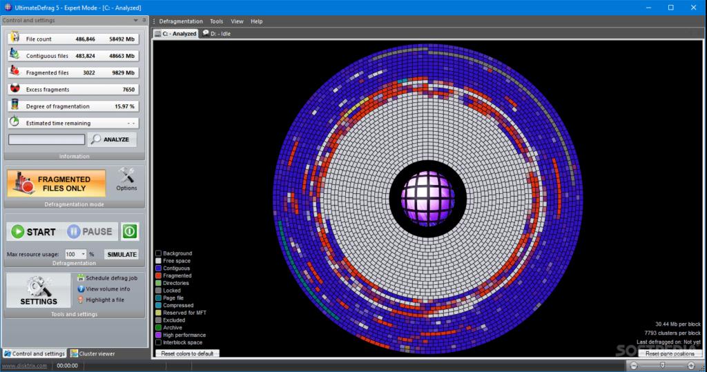 top defragmentation software