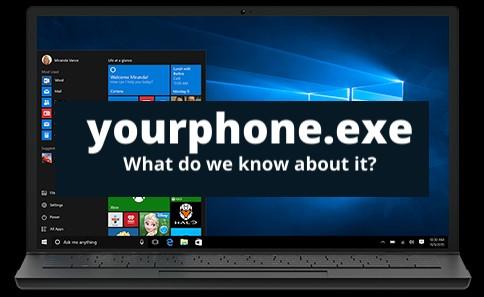 YourPhone.exe process in Windows 10