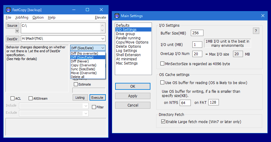 fast copy software for windows