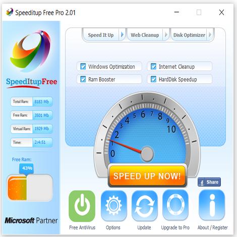 Speedltup Free