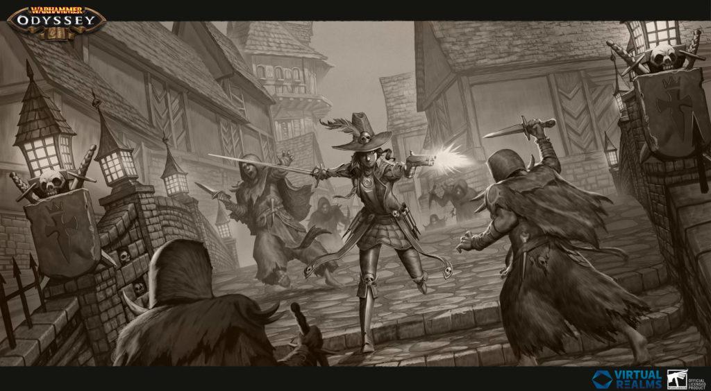 Warhammer Odyssey - Best gacha games