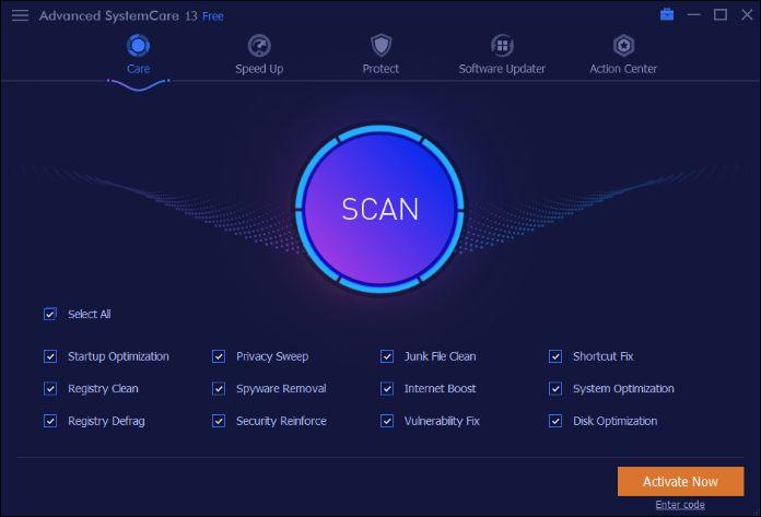 Iobit Advanced System Care