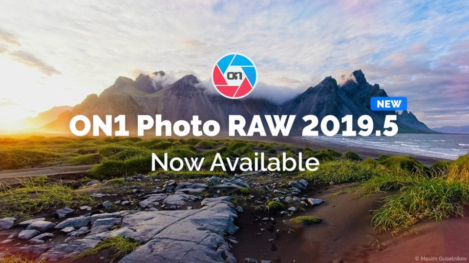 ON1 Photo RAW 2019.5