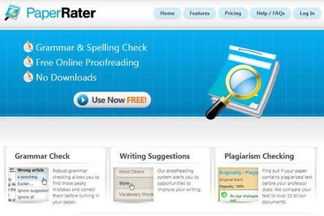 PaperRater - Best grammarly alternative