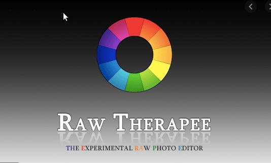 Raw Therapee - best lightroom alternatives