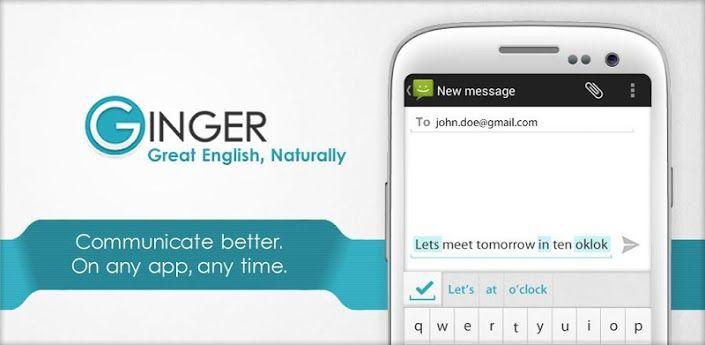 ginger - Grammarly Alternative
