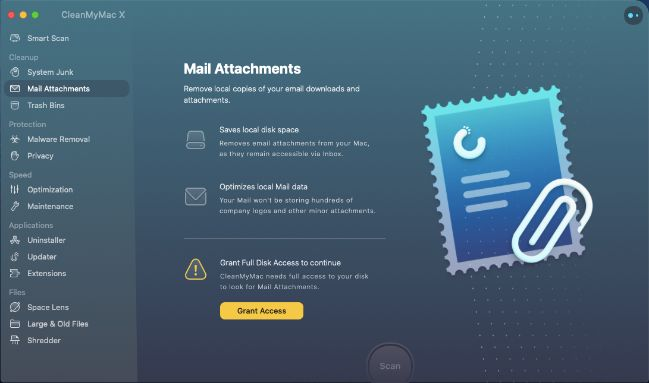 Mail Attachments - Is Cleanmymac X safe