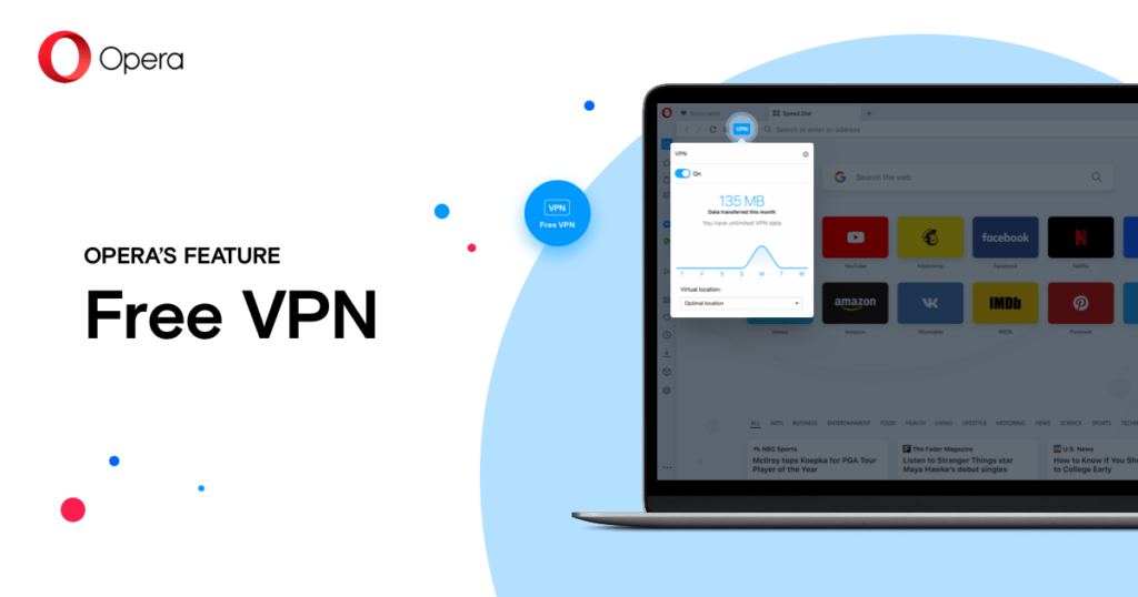 Opera VPN for netflix