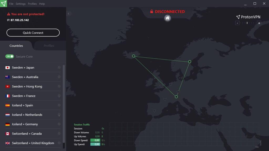 Proton VPN for netflix