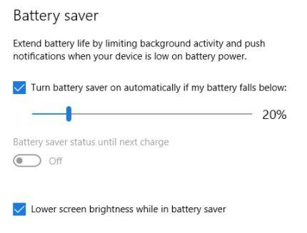 Change or Adjust Brightness in windows 10