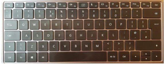 Adjust Brightness with the Keyboard