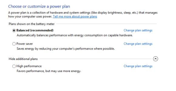 Change Sleep Settings In Windows 10