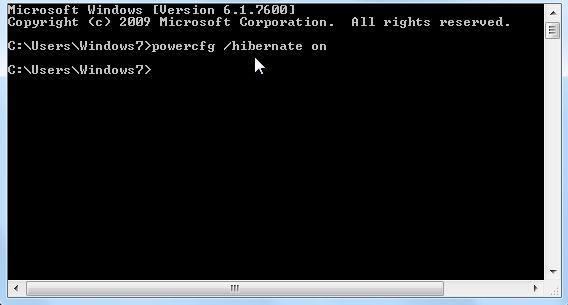 Disable Hibernation in Windows 10