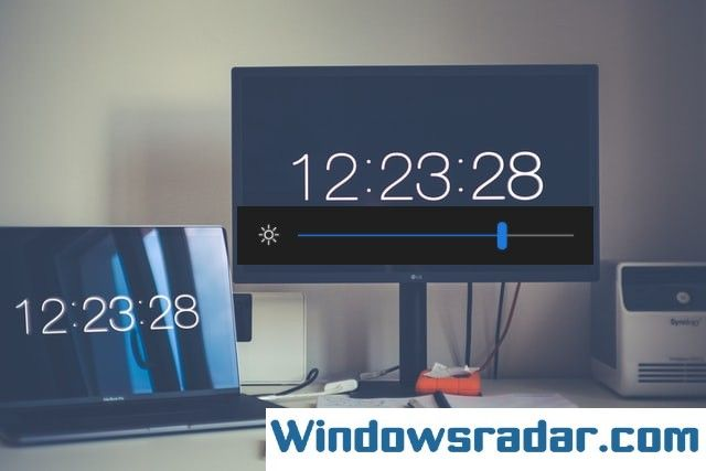 Change or Adjust Display Brightness In Windows 10