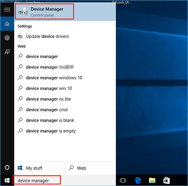 reinstalling the intel driver in Windows 10