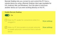 How to Use Remote Desktop to Connect To a Windows 10 PC