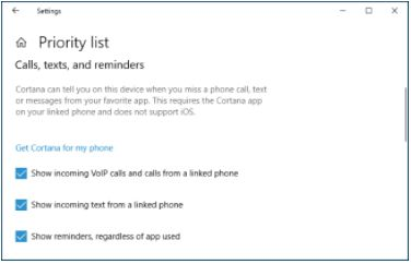 How to configure your priority list