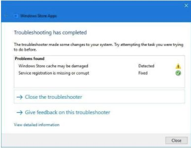 Troubleshoot Windows Store apps for Windows 10