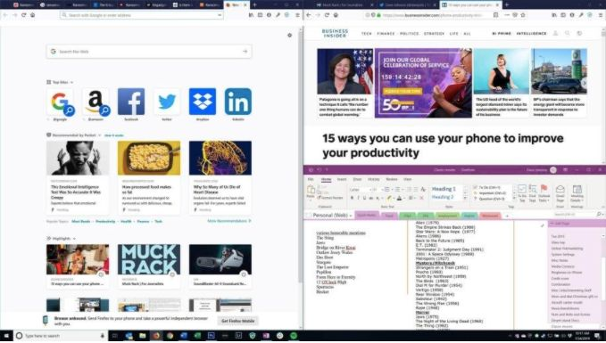 How To Split Screen In Windows 10