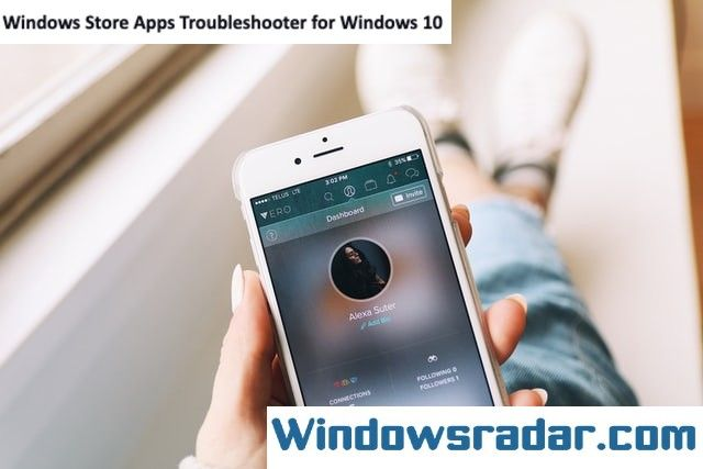 Windows Store Apps Troubleshooter for Windows 10