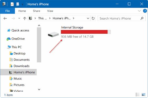 Import Photos From Phone to Windows 10