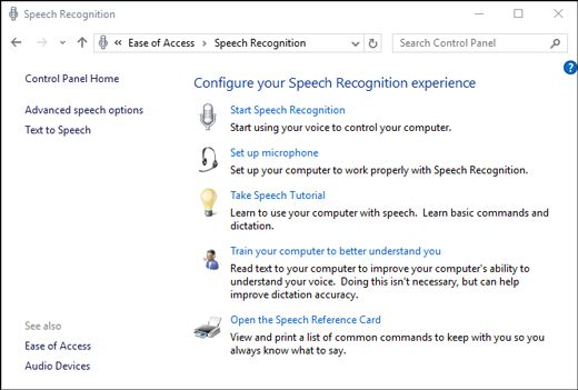 How To Open The Dictation Toolbar in Windows 10