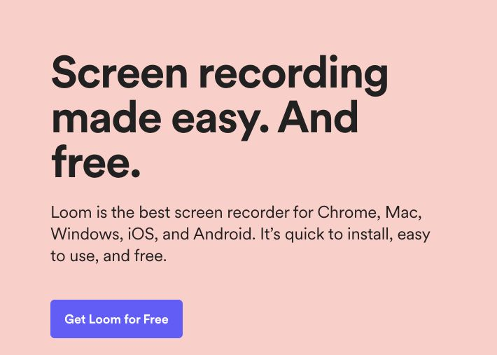 software for Screen Recording