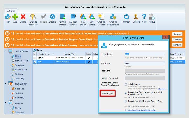 Solarwinds Dameware Remote Support