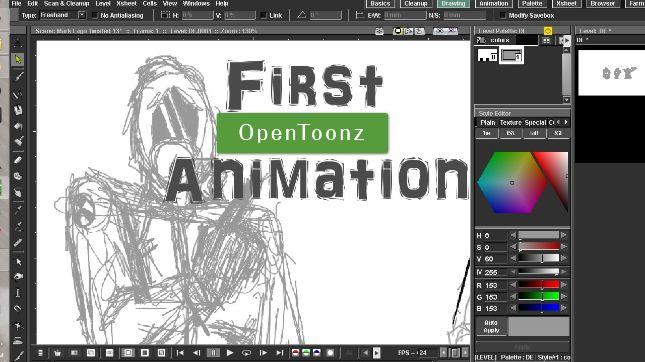 open toonz animation software