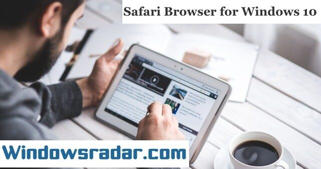 Download and install Safari Browser for Windows 10