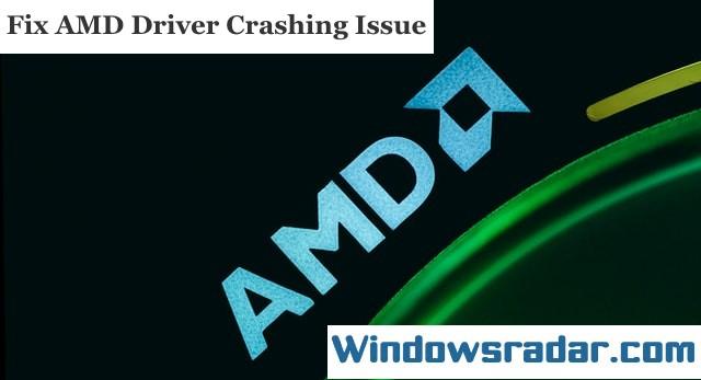AMD Driver Crashing Issue