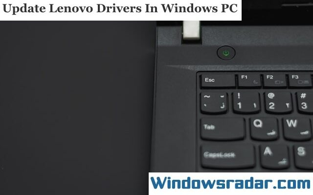 Download and Update Lenovo Drivers for Windows 10