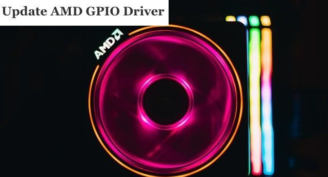 Update AMD GPIO Driver