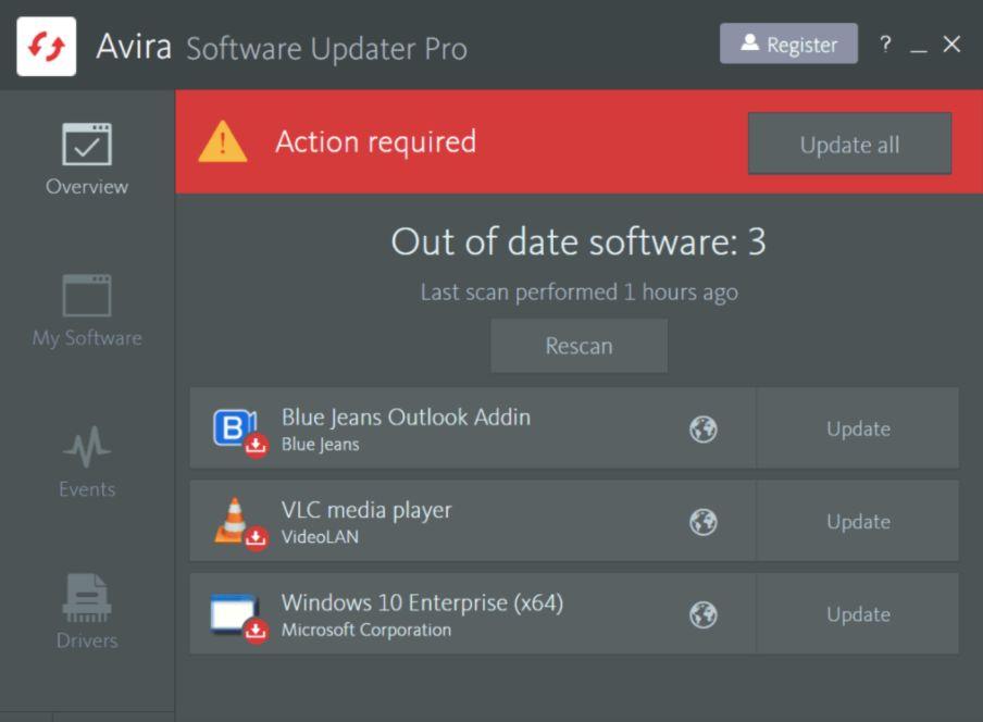 Avira Software Updater