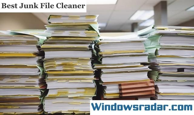Junk File Cleaner For Windows 10