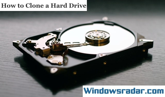 How to Clone a Hard Drive in Windows 10