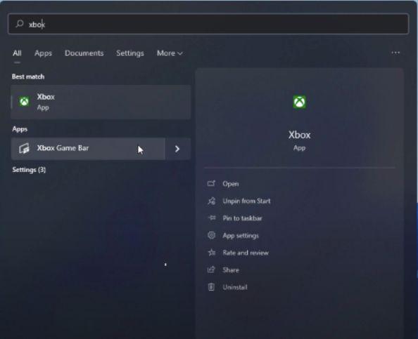 Screen Recording using Xbox game bar