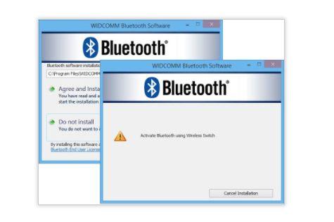 WIDCOMM Bluetooth Software