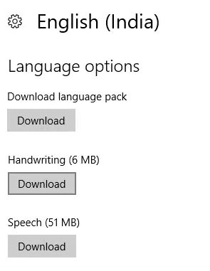 download the language pack and speech