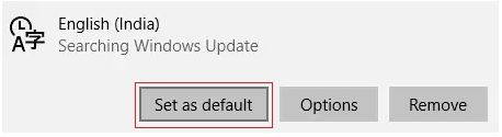 select it as default.