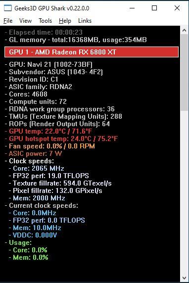 Geeks3D GPU Shark