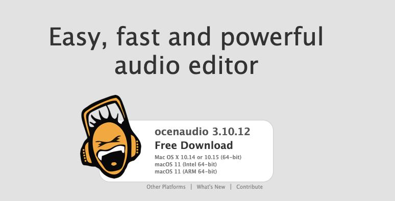FREE Audio Recording Software