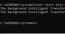 net start bits