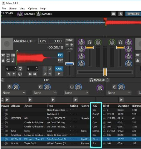 popularmusic key finder software